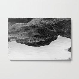Tide Poll Closeup Micro Seascape Metal Print