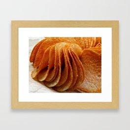 Potato Chips Framed Art Print