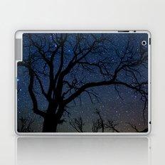 Black Trees Starry Night Laptop & iPad Skin