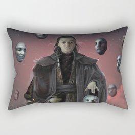 A girl has no name. Fan art Rectangular Pillow