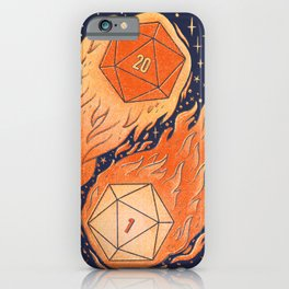 A Roll of the Die iPhone Case
