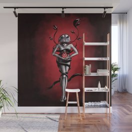 Science witch of organic chemistry Wall Mural