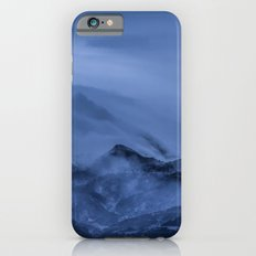 Winter magic blue mountain iPhone 6s Slim Case