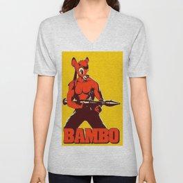 The Awesome BAMBO Unisex V-Neck