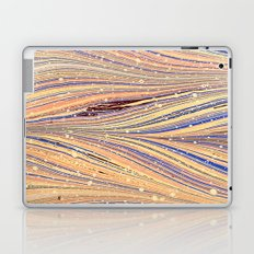 Marbled White Light Flow Laptop & iPad Skin