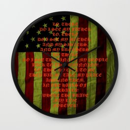 American Viking Wall Clock