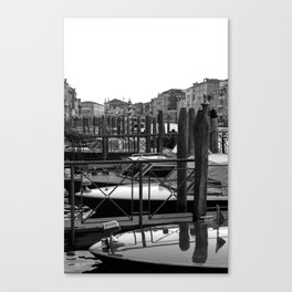 Grand Canal Slips Canvas Print