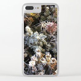 Natural pattern Clear iPhone Case