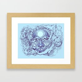 Other Face Framed Art Print