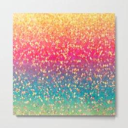 Gleaming Rainbow 10 Metal Print