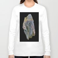 agate Long Sleeve T-shirts featuring Chopstix Agate by The Agate Hunter