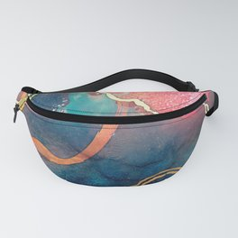 Rose Water Fanny Pack