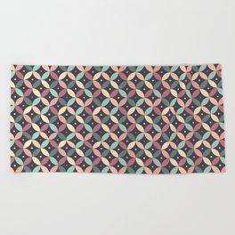pattern - june/20 Beach Towel