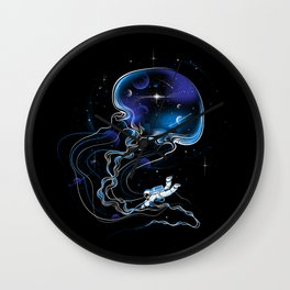 Universe Is a Big Jellyfish Wall Clock
