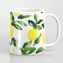 Summer Lemons Coffee Mug