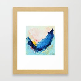 Your Leap of Faith Framed Art Print