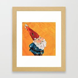 Abstract Study of Gnome Framed Art Print