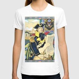 12,000pixel-500dpi - Arthur Szyk - Polish-American Fraternity series, Tadeusz Kosciuszko T-shirt