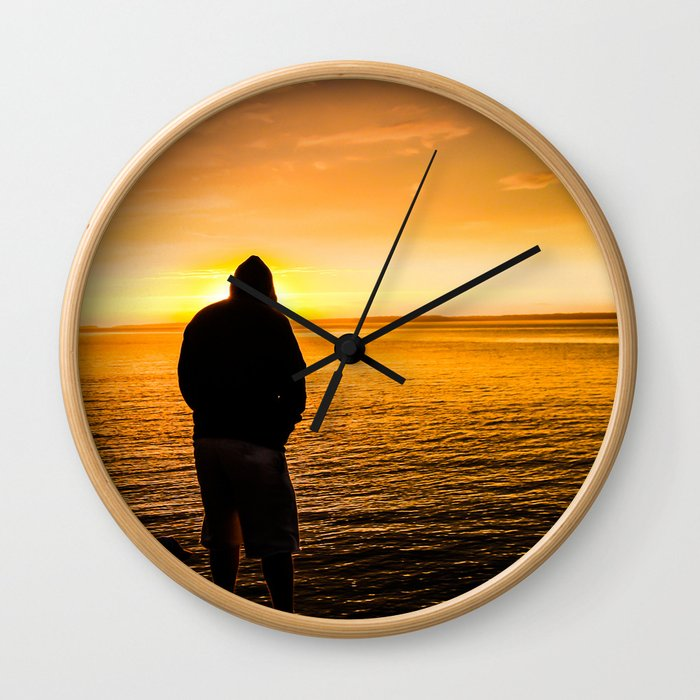 Longest Day Wall Clock
