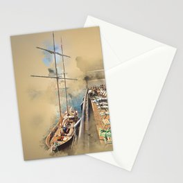 Relax! South Street Seaport NYC Stationery Cards
