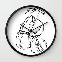 Chestnuts Kyiv Wall Clock
