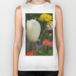 White Tulip Biker Tank