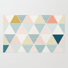 Modern Geometric Rug