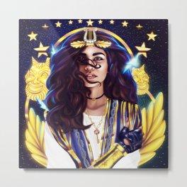 Warrior Goddess Z Metal Print