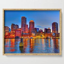 Boston Harbor Serving Tray