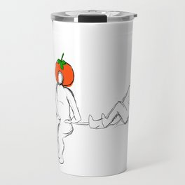 persimmon ginger Travel Mug
