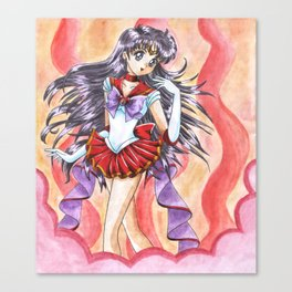 Sailor Mars Costume Upgrade Canvas Print