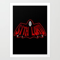 sith Art Prints featuring Sith Lord by Buby87
