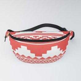 Aztec Pattern No. 34 Fanny Pack