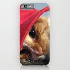 Cute Cat Wearing Red Cap Slim Case iPhone 6s
