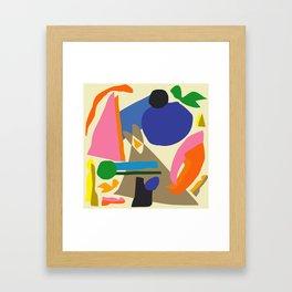 Abstract morning Framed Art Print