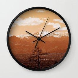 Pike's Peak Wall Clock