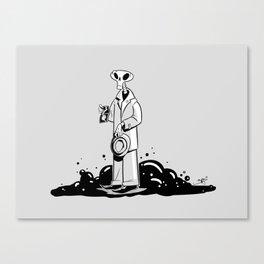 Deadtective Mori Canvas Print