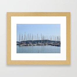 Lake Balaton Framed Art Print