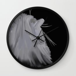 Cats daydream  Wall Clock