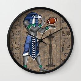 Seahawk Pharoah Wall Clock