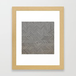 Pattern Study, Santa Monica Framed Art Print