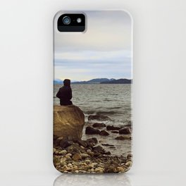Looking at the lake iPhone Case