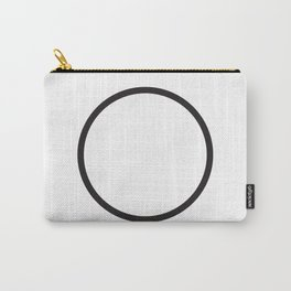 Minimal Circle Carry-All Pouch