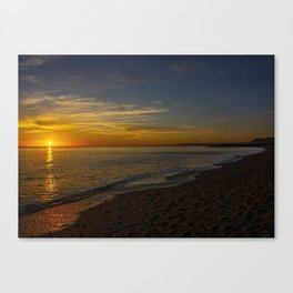 Sunset at West Bay 3 Canvas Print