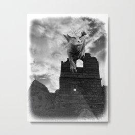 Dragon invasion Metal Print