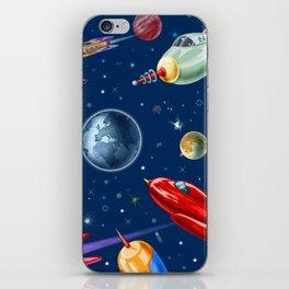 rockets in traffic iPhone Skin