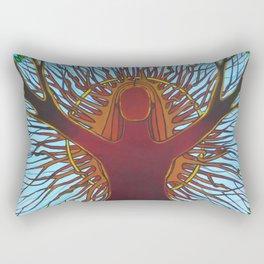 Tree Pose Rectangular Pillow