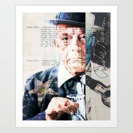Buster Keaton - The Great Stone Face Art Print