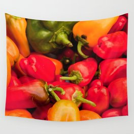 Kitchen Still Life: Hot Peppers Wall Tapestry