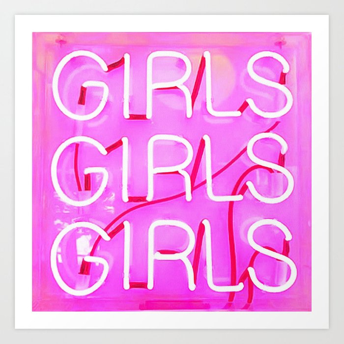 Girls Kunstdrucke
